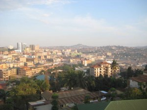 View of Kampala from Gaddafi National Mosque